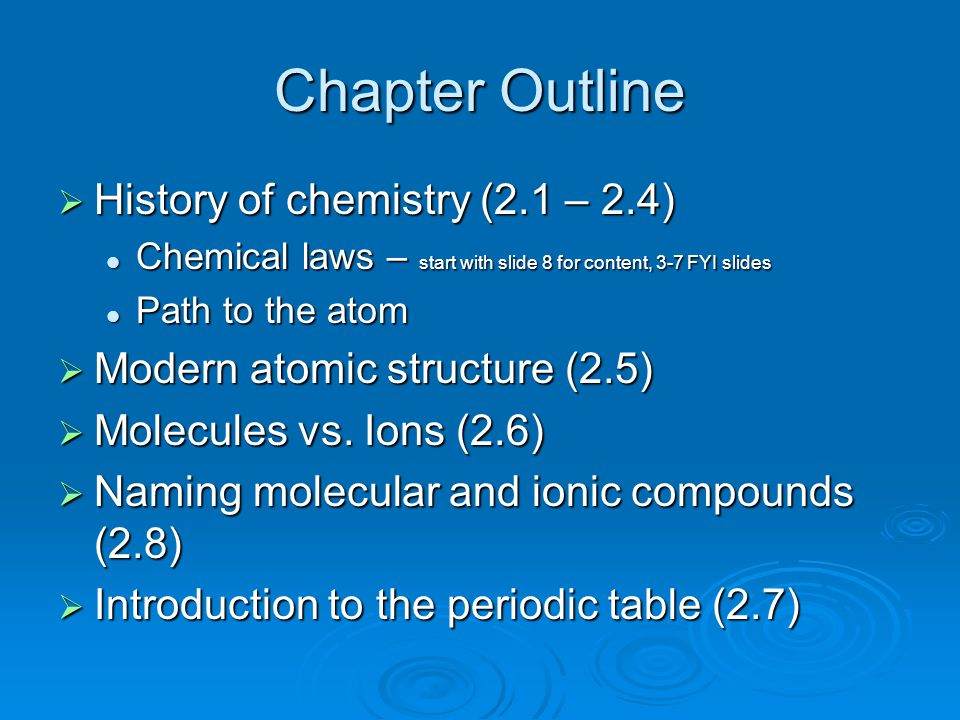 Law of Multiple Proportions Example  Consider two 100.0 g samples 2 different compounds containing only C and H.