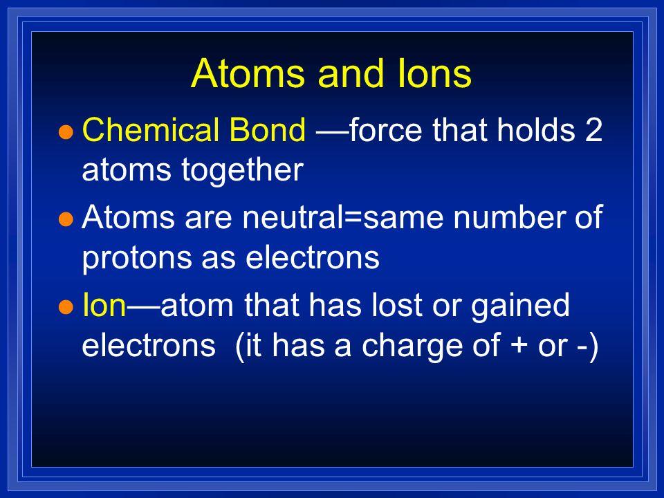 Ionic Bonding Writing Formulae Naming Compounds