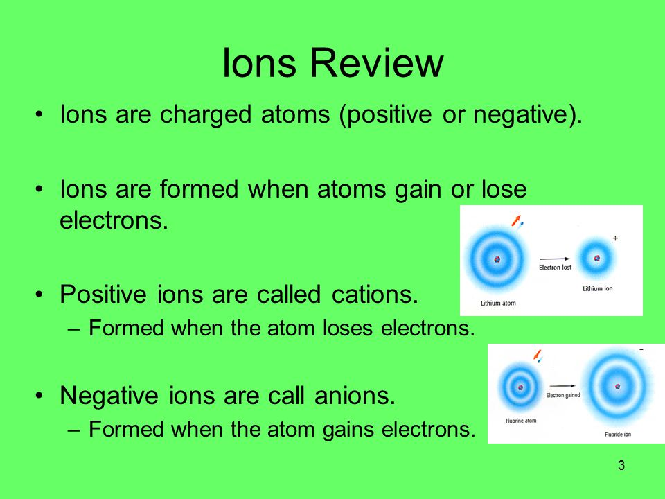 Ionic Vs.Covalent Bonds Ionic Bonds Form when electrons are exchanged between atoms.