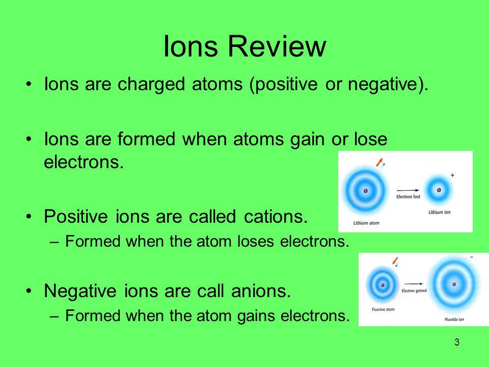 Ionic Bonds Ionic bonds are formed between metals and non-metals.