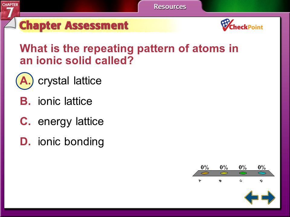 A.A B.B C.C D.D Chapter Assessment 1 Cations form when atoms _______ electrons.