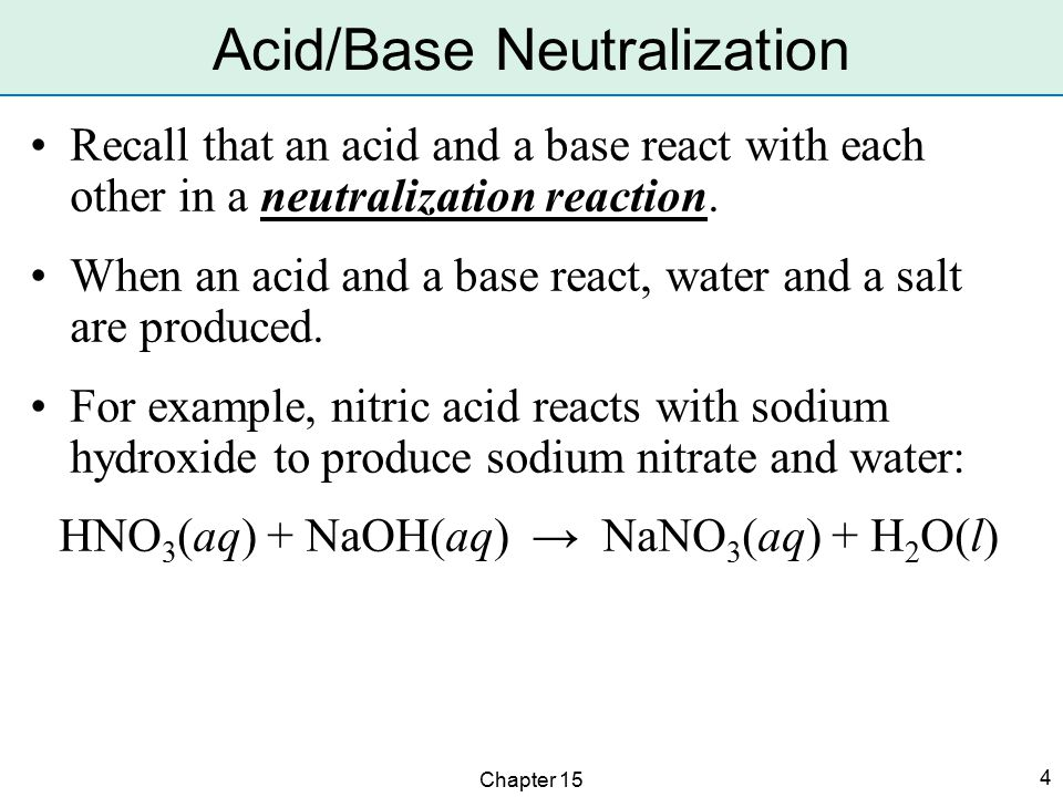 Chapter 15 5 A pH value expresses the acidity or basicity of a solution.