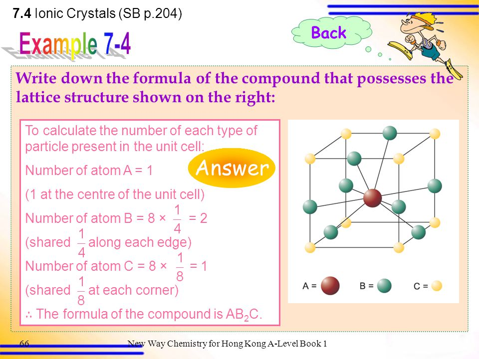 New Way Chemistry for Hong Kong A-Level Book 165 Give two properties of ions that will affect the value of the lattice enthalpy of an ionic compound.