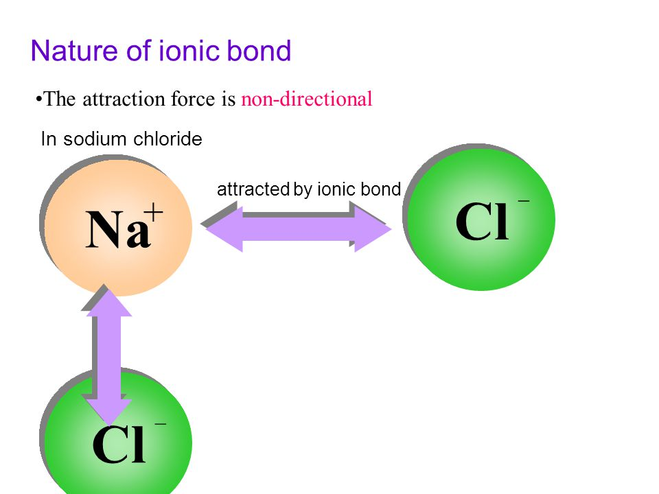 When a sodium atom and a chlorine atom react, the sodium atom loses one electron to the chlorine atom. As a result of this transfer of electron, two i