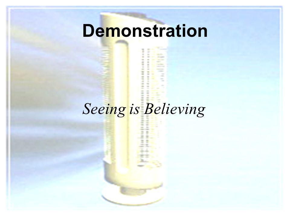 2 Demonstration Seeing is Believing