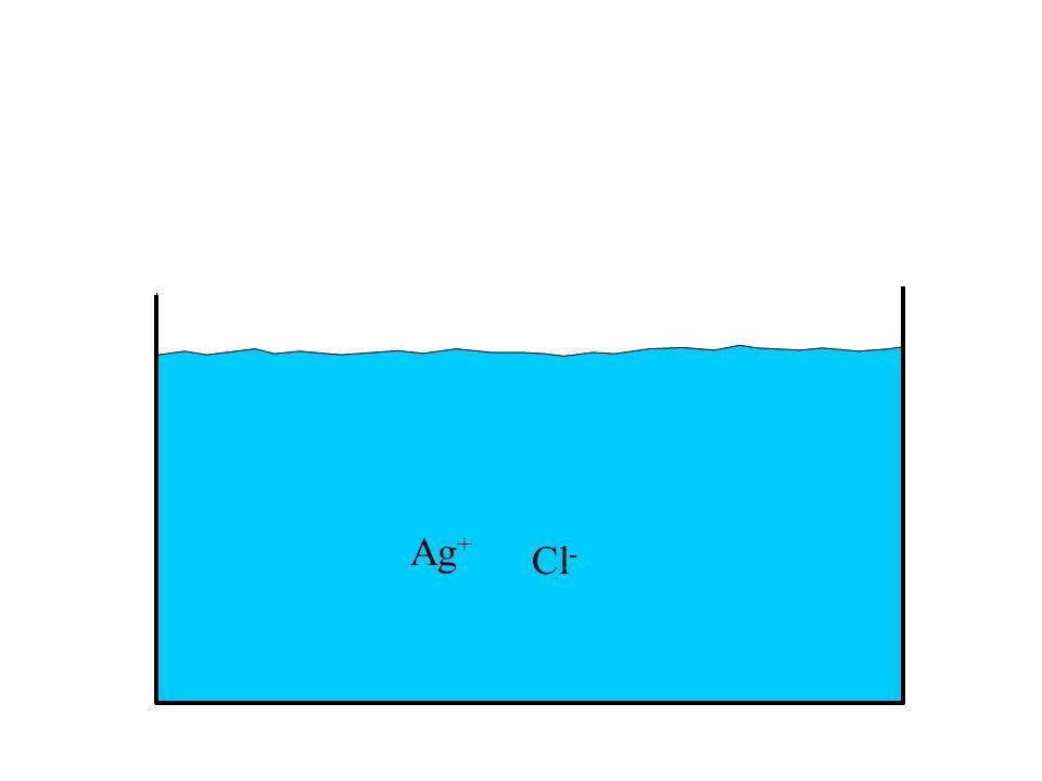 Ag + Cl -