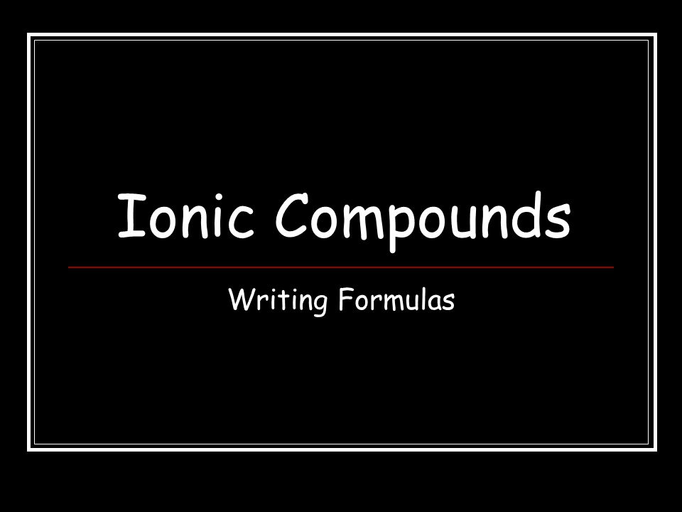 Wrap-Up 4 What is the formula for a compound made from indium and arsenic? InAs