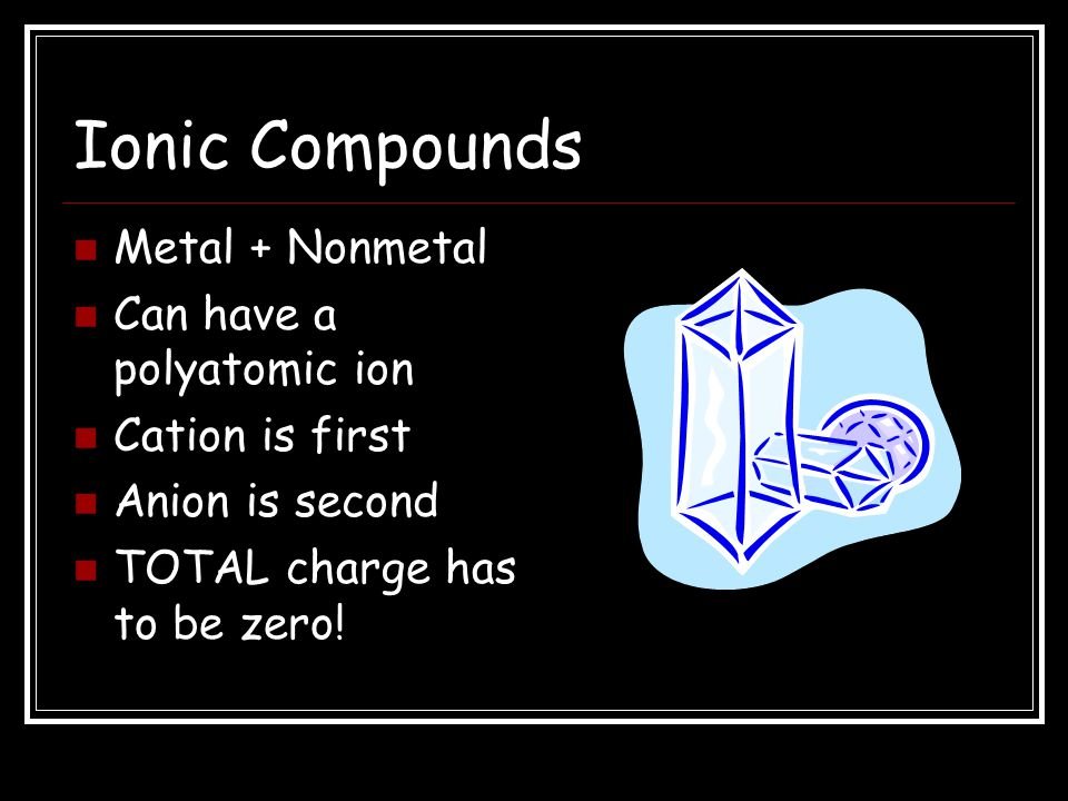 Wrap-Up 7 What is the formula for a compound made from ammonium and sulfur? (NH 4 ) 2 S