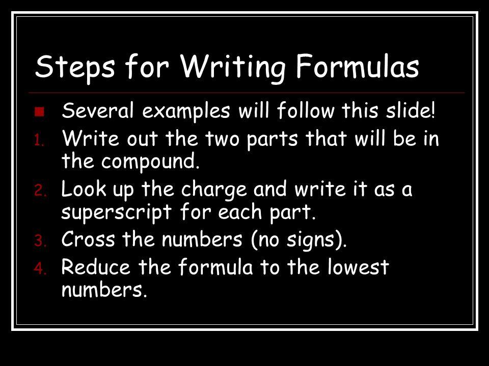 5. Rewrite as a finished formula. Na 3 PO 4