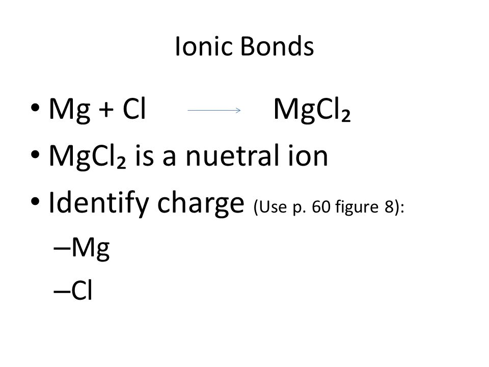 Ionic Bond Practice How many ions of magnesium and oxygen would you need to make an electrically neutral compound.