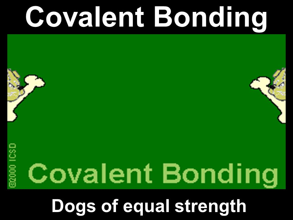 2. Covalent Bonds: formed when atoms share e-; 2.