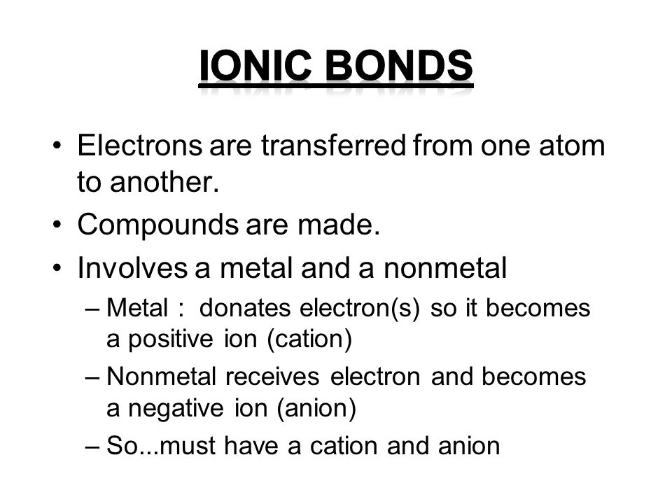 Why do ions exist.Atoms want a full outer shell of valence electrons (8).