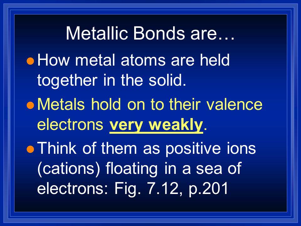 Why use alloys.