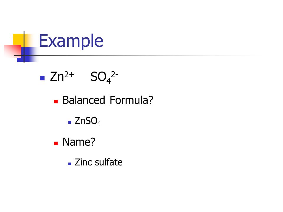 Naming ionic compounds with polyatomic ions (tertiary ionic compounds): 1.
