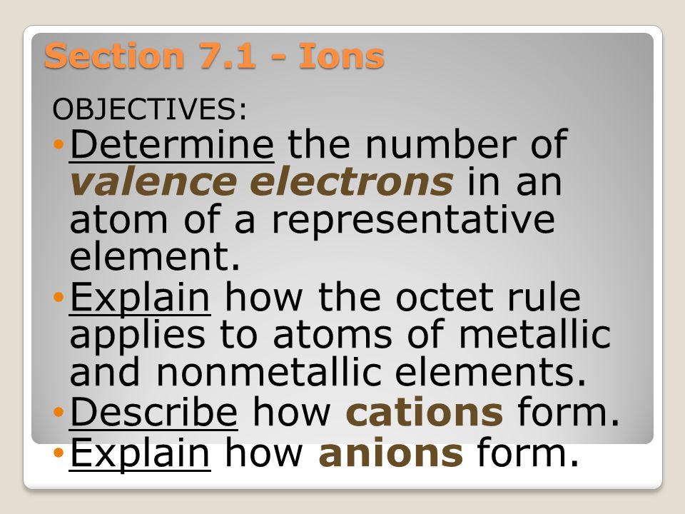 "Chapter 7 ""Ionic and Metallic Bonding"" Pequannock Township High School Chemistry Mrs. Munoz"