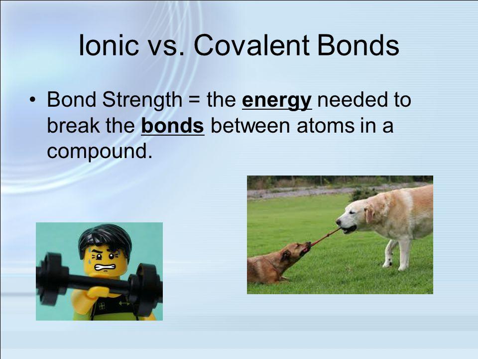 Ionic vs.