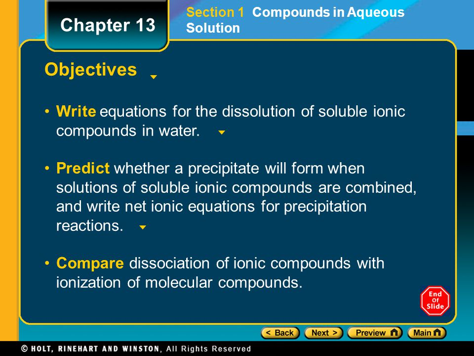 Objectives, continued Draw the structure of the hydronium ion, and explain why it is used to represent the hydrogen ion in solution.