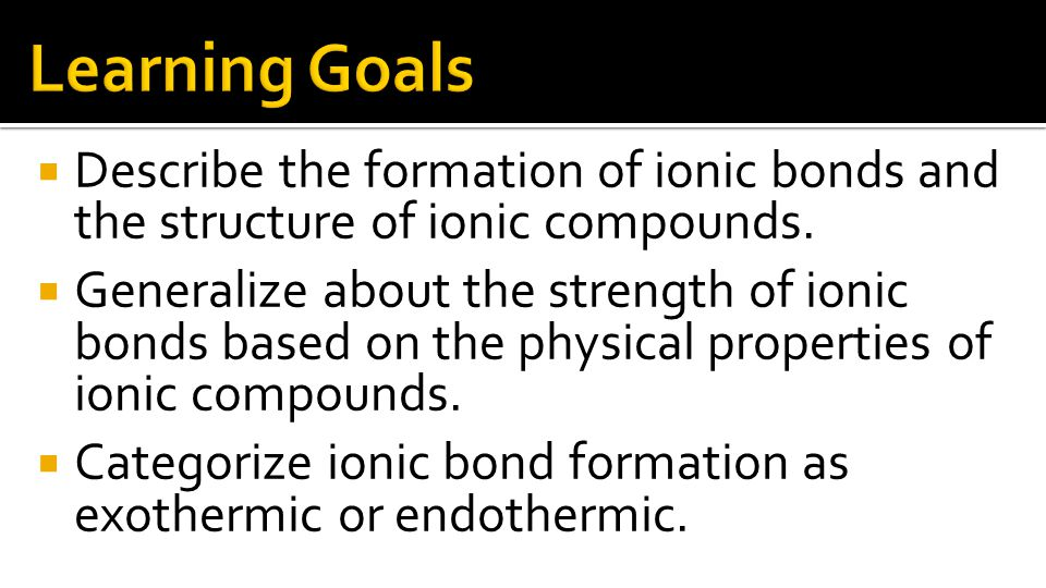 Positive and negative ions exist in a ratio determined by the number of electrons transferred from the metal atom to the non-metal atom.