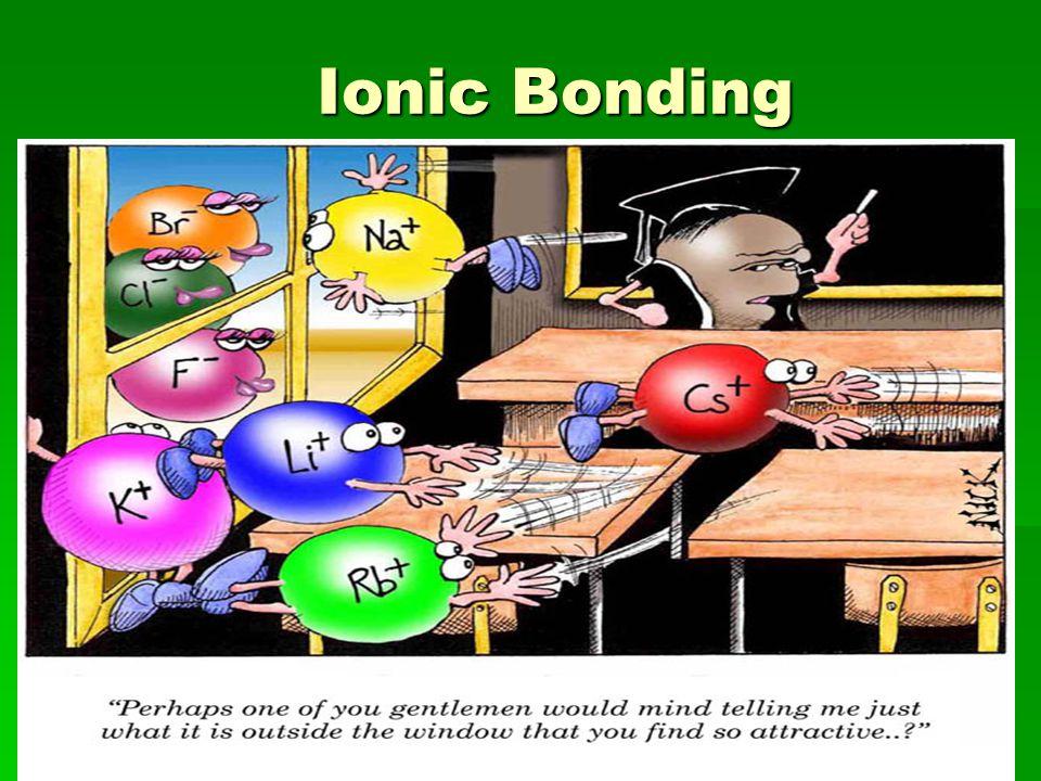 Ionic Bonding Ionic Bonding