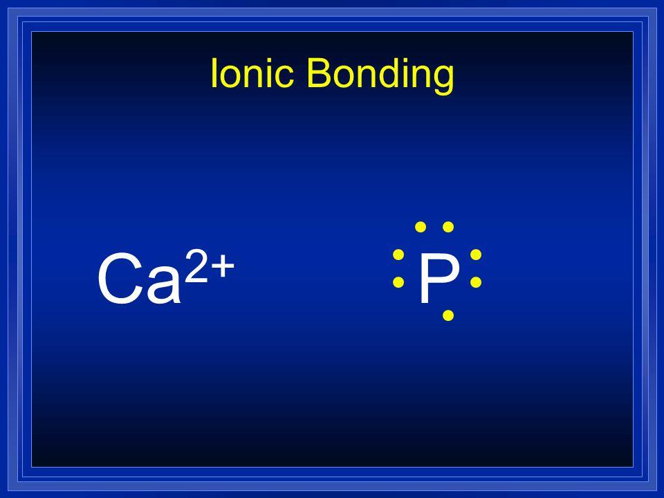 Ionic Bonding CaP