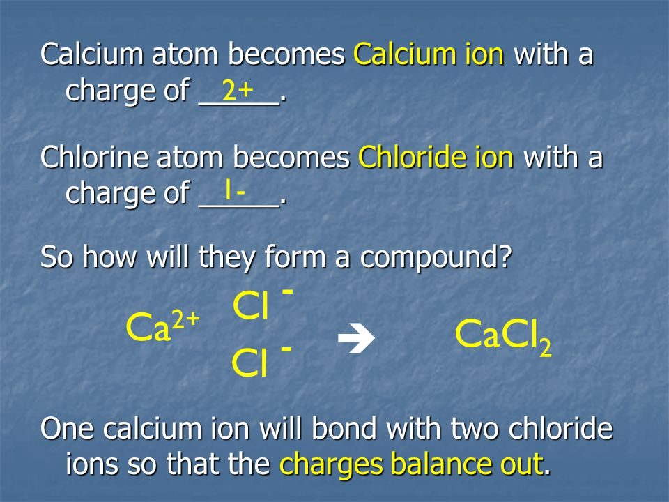 Recall – use subscripts to show how many of each atom are in a compound.