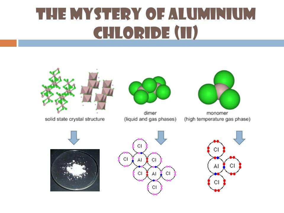 The Mystery of Aluminium Chloride (II)
