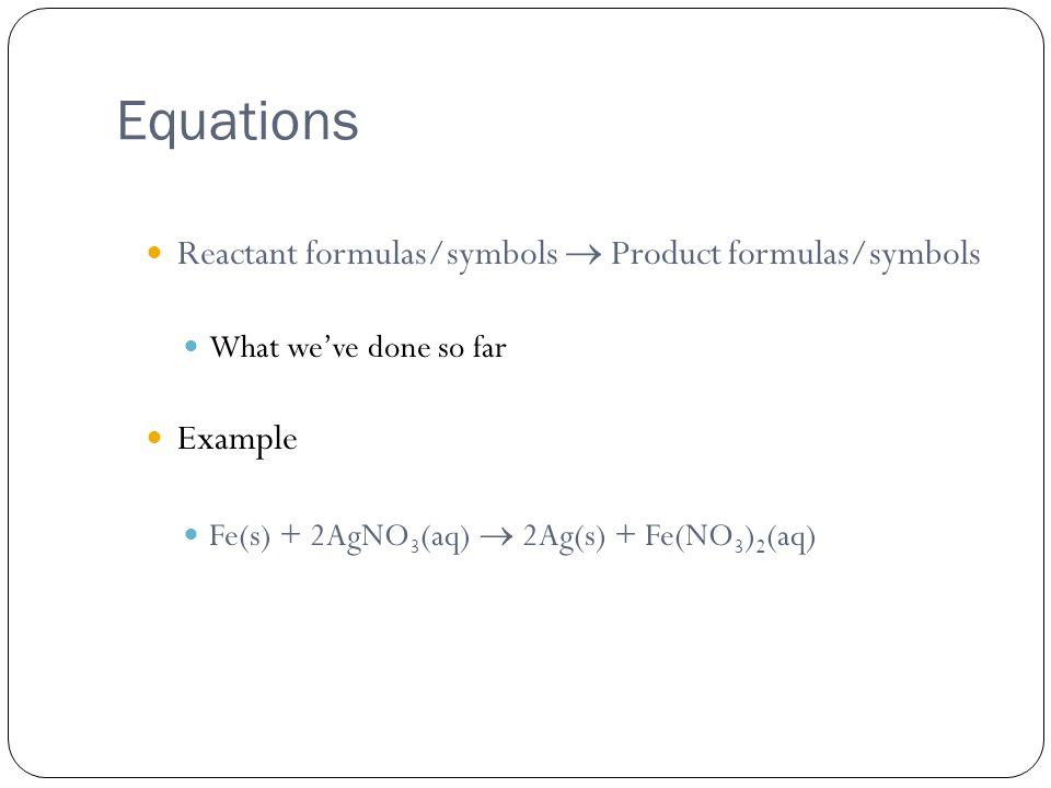Rxn QU-EST directions Part 2 Directions: Write balanced chemical equation for FIVE (5) of the following reactions.