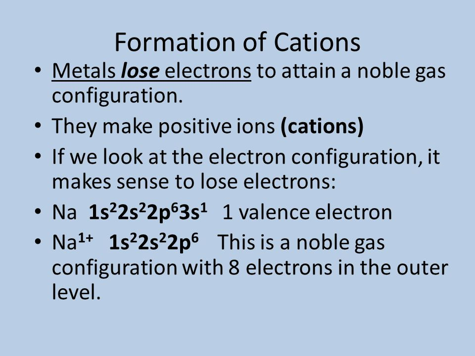 The Octet Rule l In Chapter 6, we learned that noble gases are unreactive in chemical reactions l In 1916, Gilbert Lewis used this fact to explain why