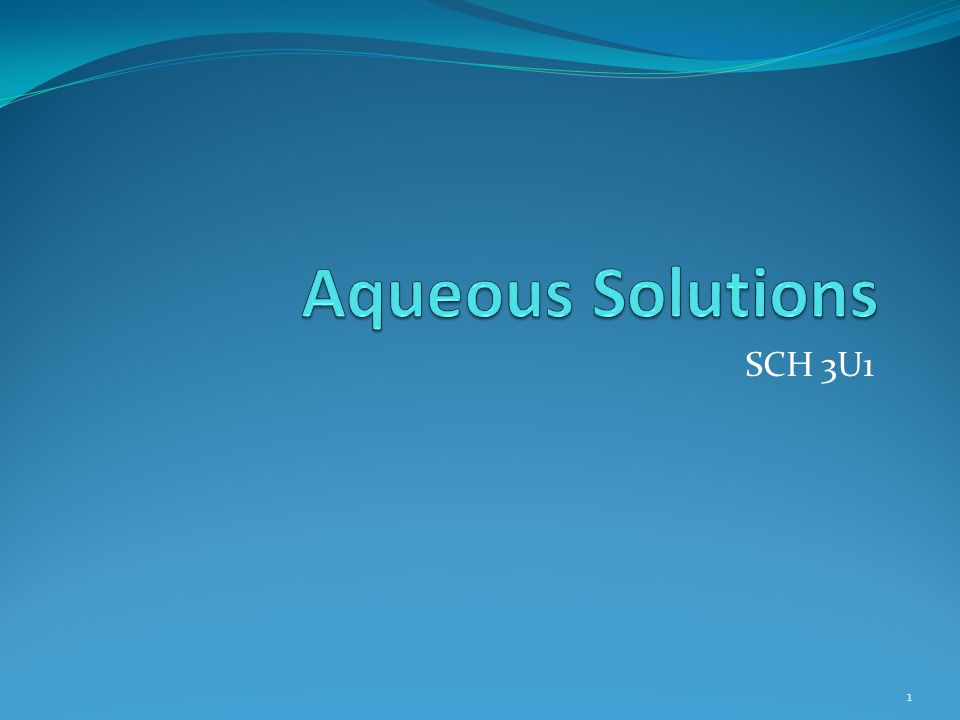 Solubility of Ionic Compounds 2 All solutes will have some solubility in water.