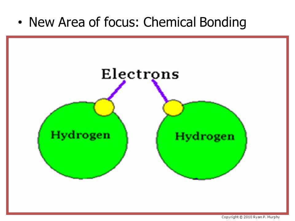 New Area of focus: Chemical Bonding Copyright © 2010 Ryan P. Murphy