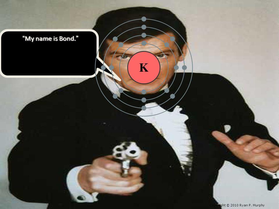 My name is Bond. My name is Bond. Copyright © 2010 Ryan P. Murphy