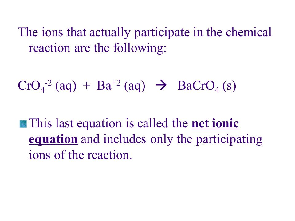 The Activity Series We can list metals in order of decreasing ease of oxidation.