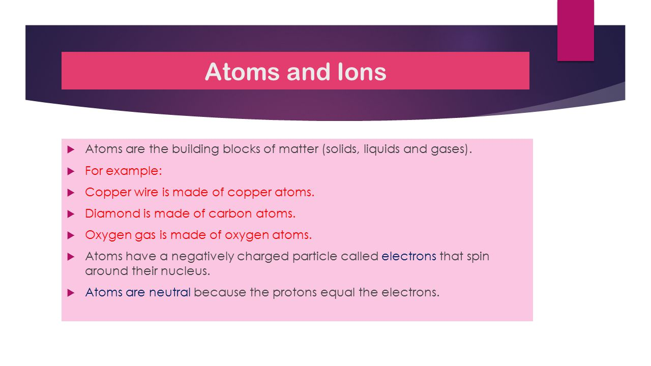 How do Ions form. Ions are atoms with charges (+ or -).