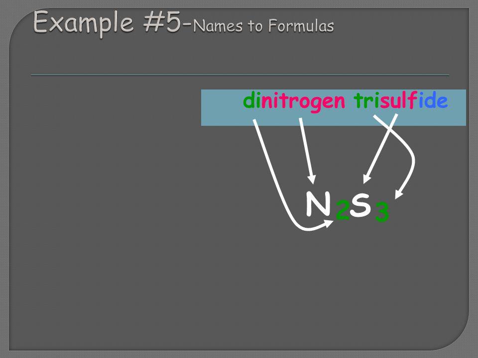 dinitrogen trisulfide N S 2 3