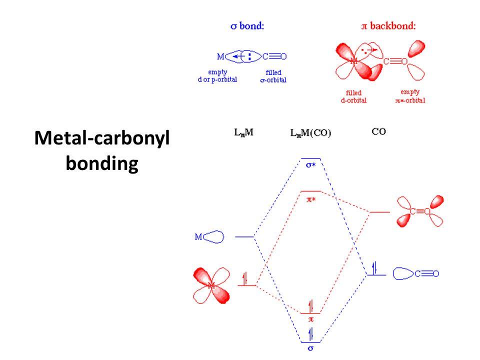 Metal-carbonyl bonding