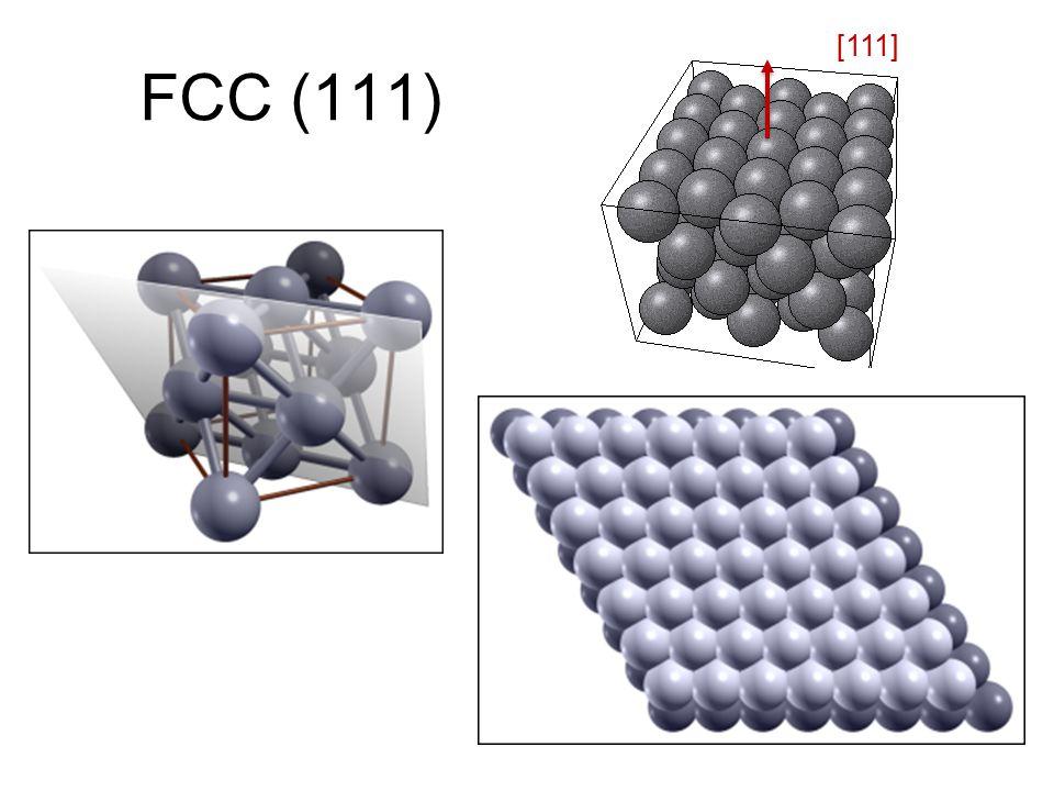 FCC (111) [111]