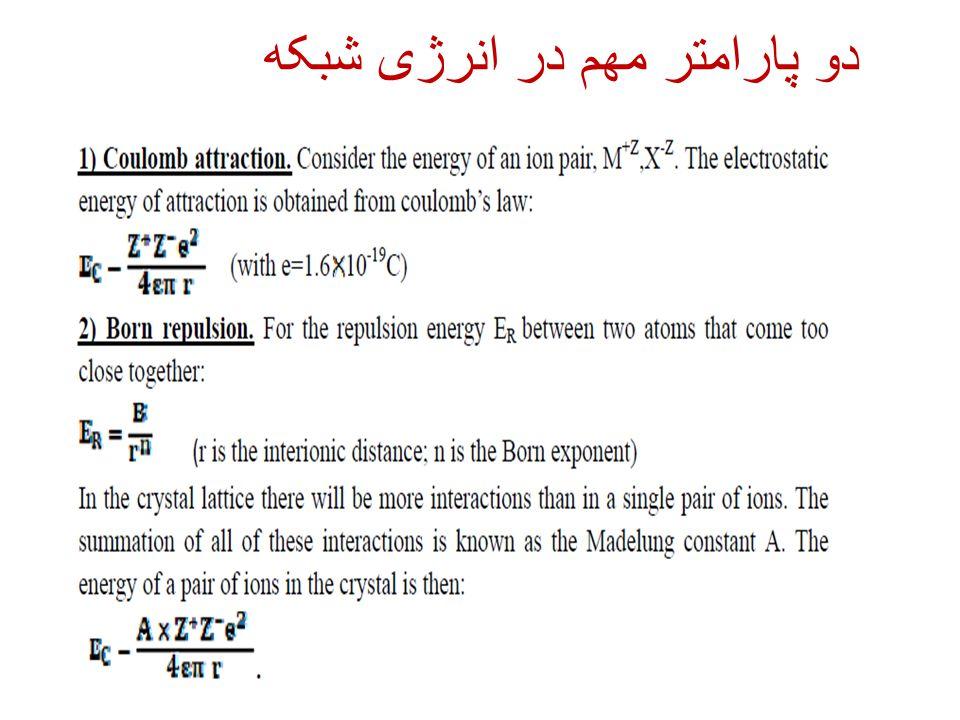 دو پارامتر مهم در انرژی شبکه