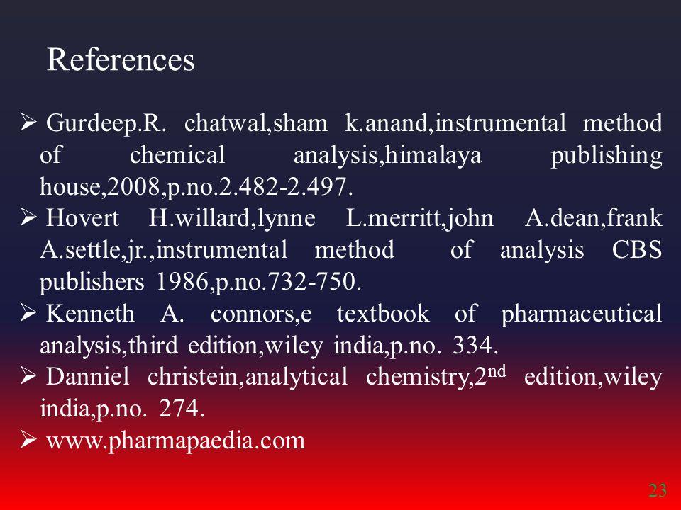 References  Gurdeep.R.