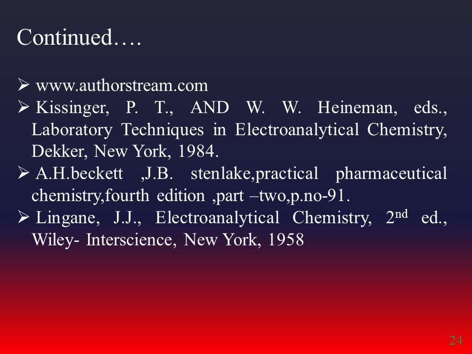  www.authorstream.com  Kissinger, P.T., AND W. W.