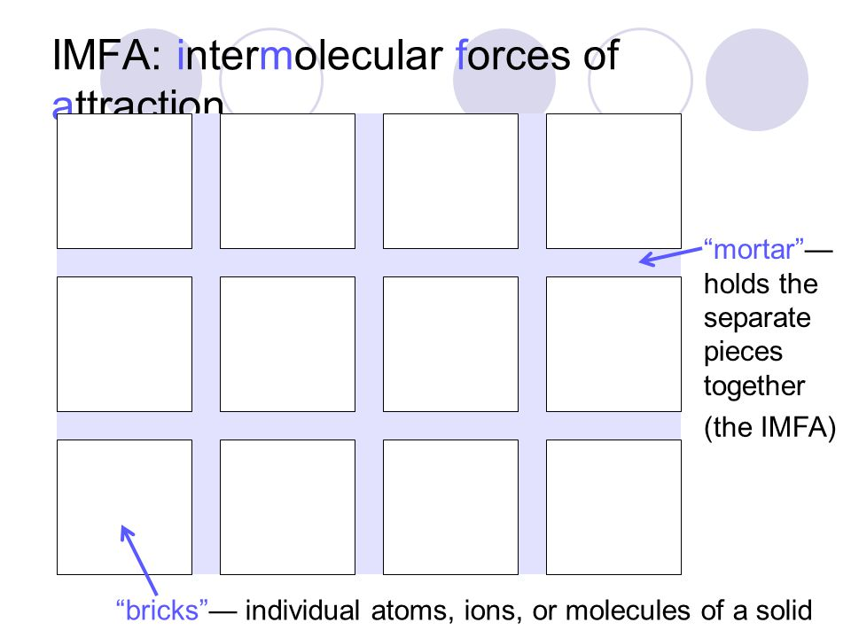 metallic bonding structure  nuclei arranged in a regular grid or matrix  sea of electrons —delocalized valence electrons free to move throughout grid  metallic bond is stronger than van der Waals attractions but generally is weaker than covalent bond since there are not specific e – pairs forming bonds resulting properties  shiny surface  conductive (electrically and thermally)  strong, malleable, and ductile alloy = mixture of metals