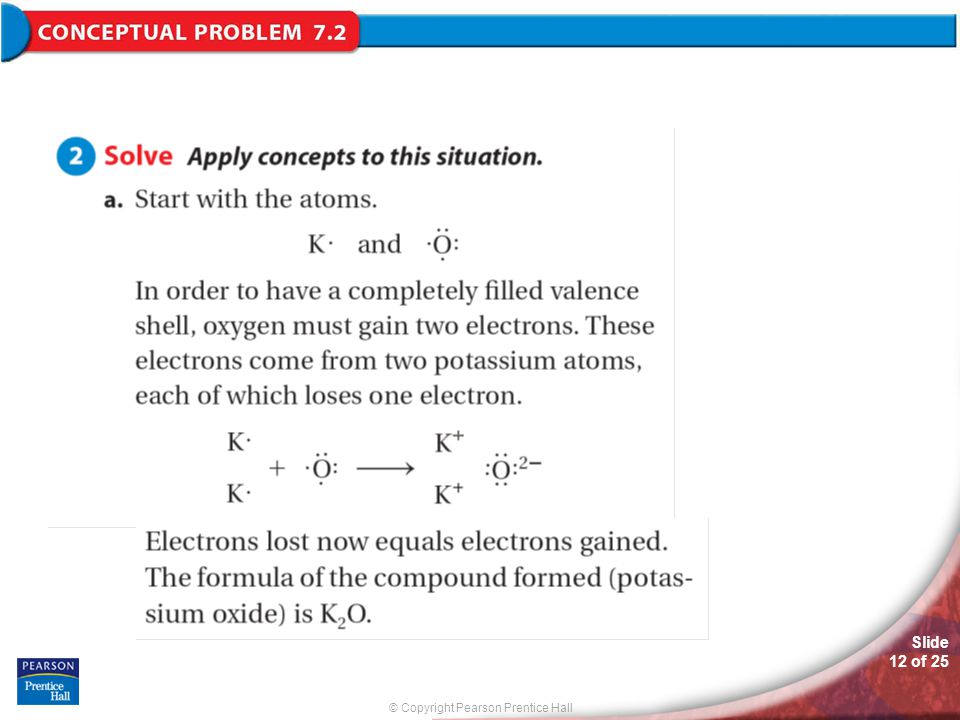 © Copyright Pearson Prentice Hall Slide 12 of 25 Conceptual Problem 7.2