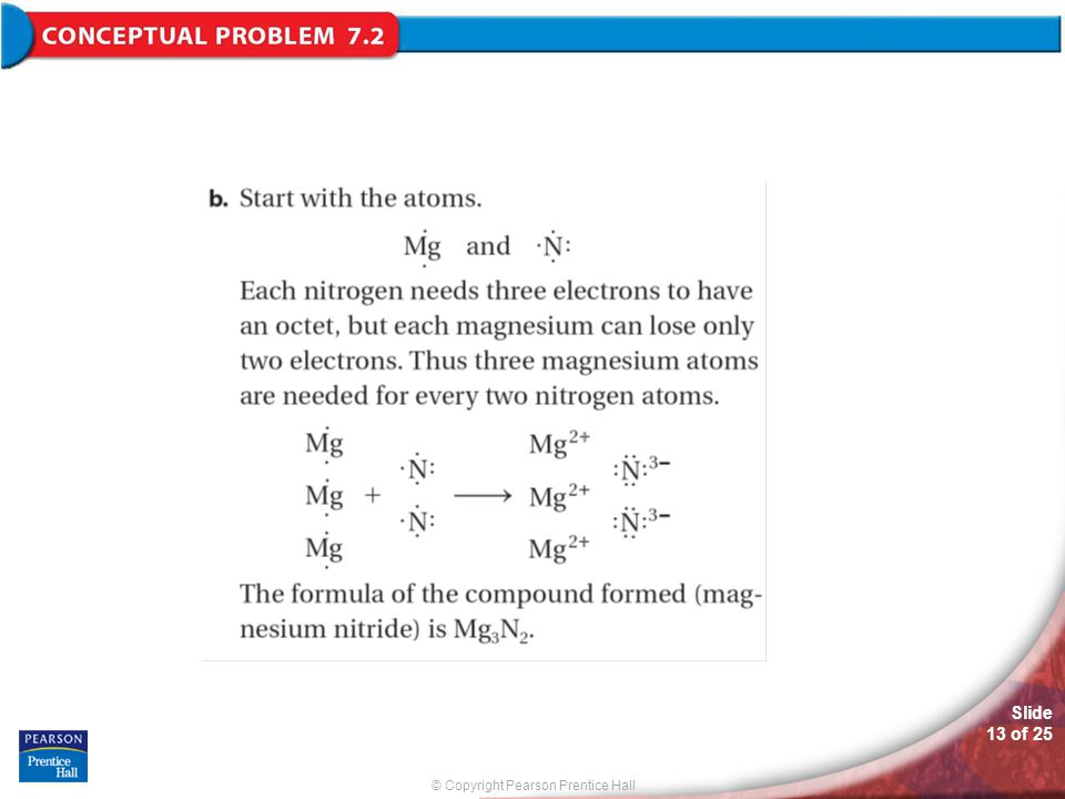 © Copyright Pearson Prentice Hall Slide 13 of 25 Conceptual Problem 7.2