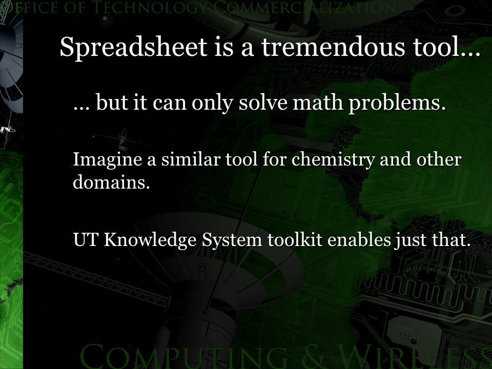 … but it can only solve math problems. Imagine a similar tool for chemistry and other domains.
