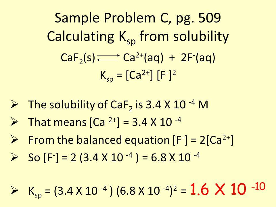 Sample Problem C, pg.