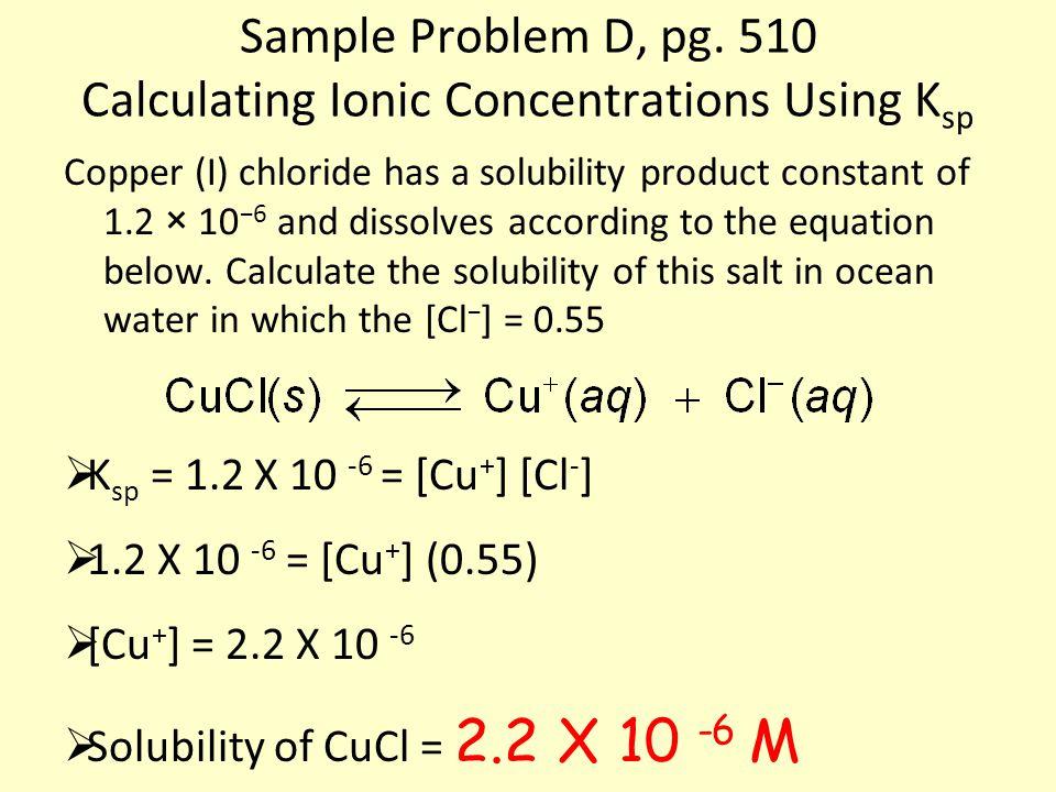 Sample Problem D, pg.