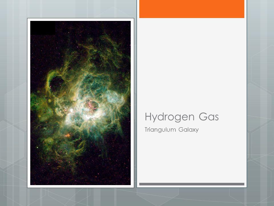 Hydrogen Gas Triangulum Galaxy