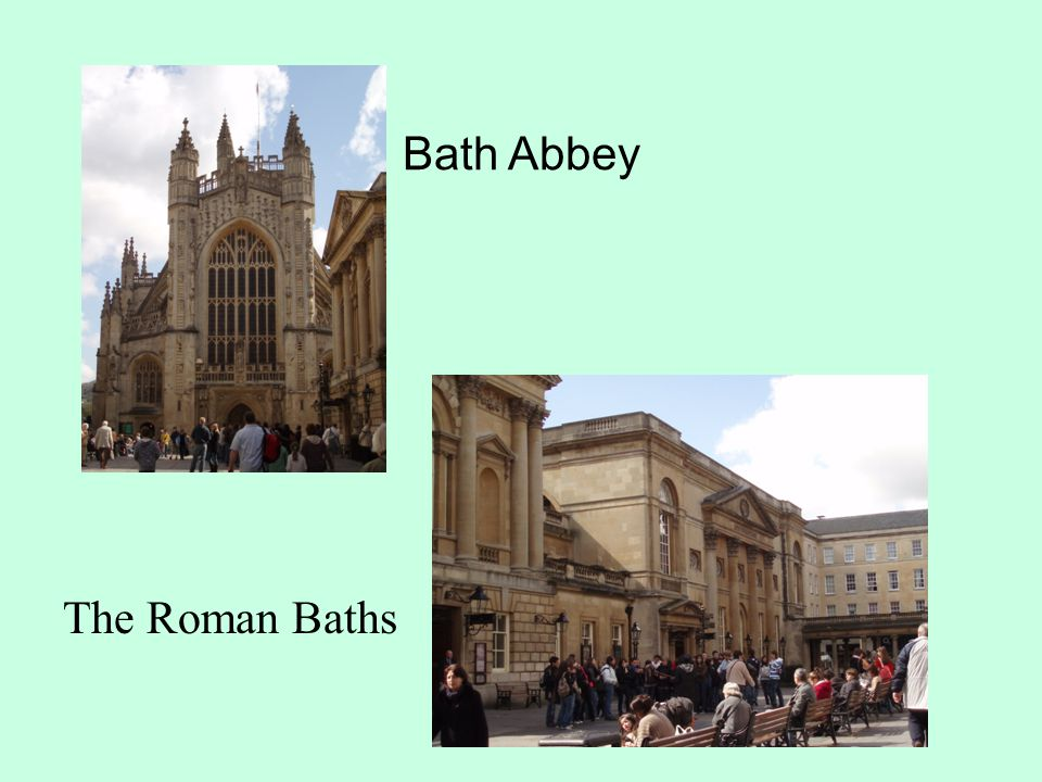Bath Abbey The Roman Baths