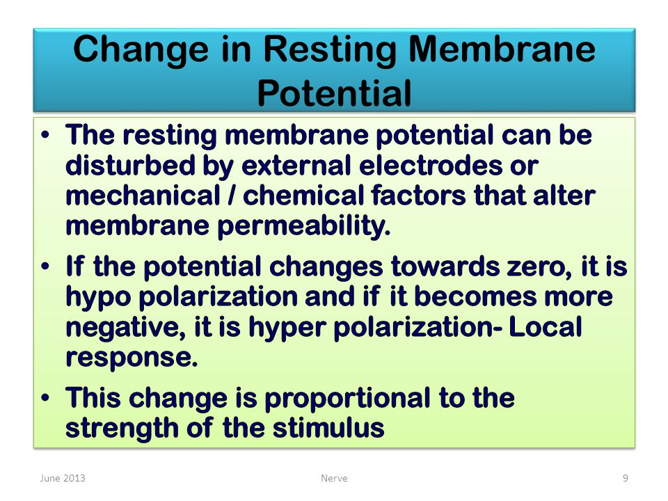 Change in Resting Membrane Potential June 2013Nerve9