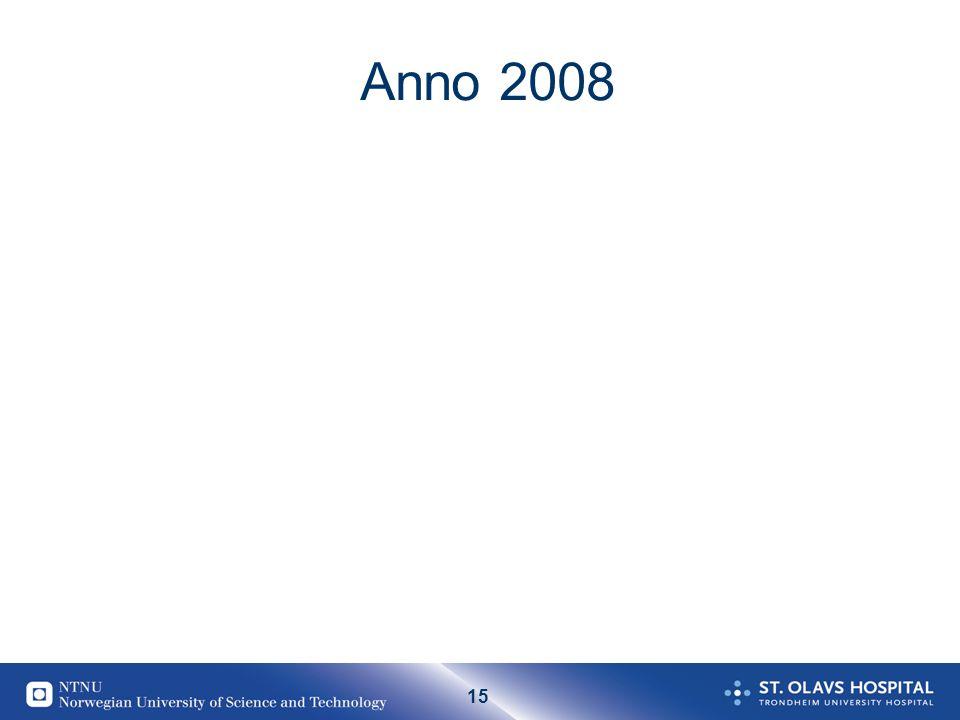 15 Anno 2008