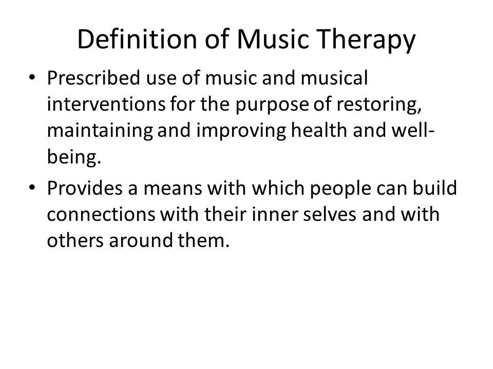 Music therapy + Happiness Music therapy leads to greater happiness than play therapy May promote positive parenting and child development Hendon C, Bohon LM.
